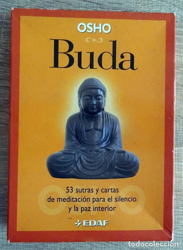 BUDA OSHO ( LIBRO + 53 CARTAS) (Libros de Segunda Mano - Pensamiento - Otros)
