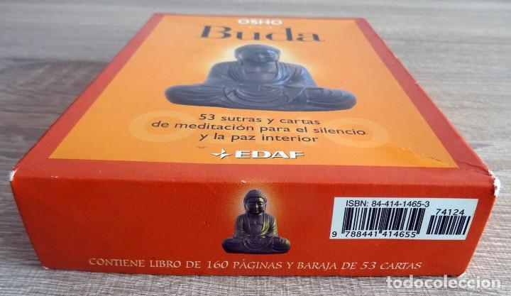 Libros de segunda mano: BUDA OSHO ( LIBRO + 53 CARTAS) - Foto 2 - 264711274