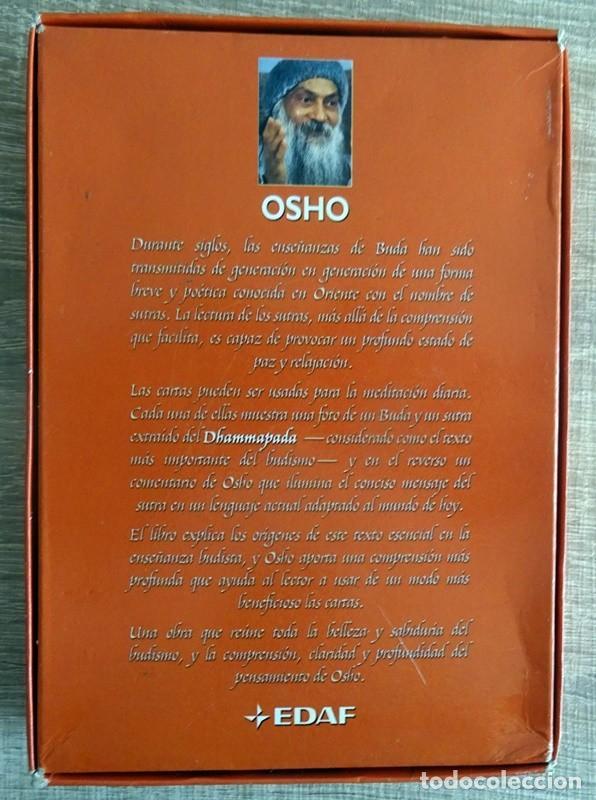 Libros de segunda mano: BUDA OSHO ( LIBRO + 53 CARTAS) - Foto 7 - 264711274