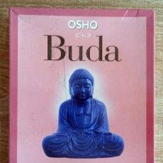Libros de segunda mano: BUDA OSHO ( LIBRO + 53 CARTAS). Lote 264711754