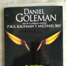 Libros de segunda mano: EL ESPÍRITU CREATIVO ** DANIEL GOLEMAN, PAUL KAUFMANN Y MICHAEL RAY.. Lote 264782969