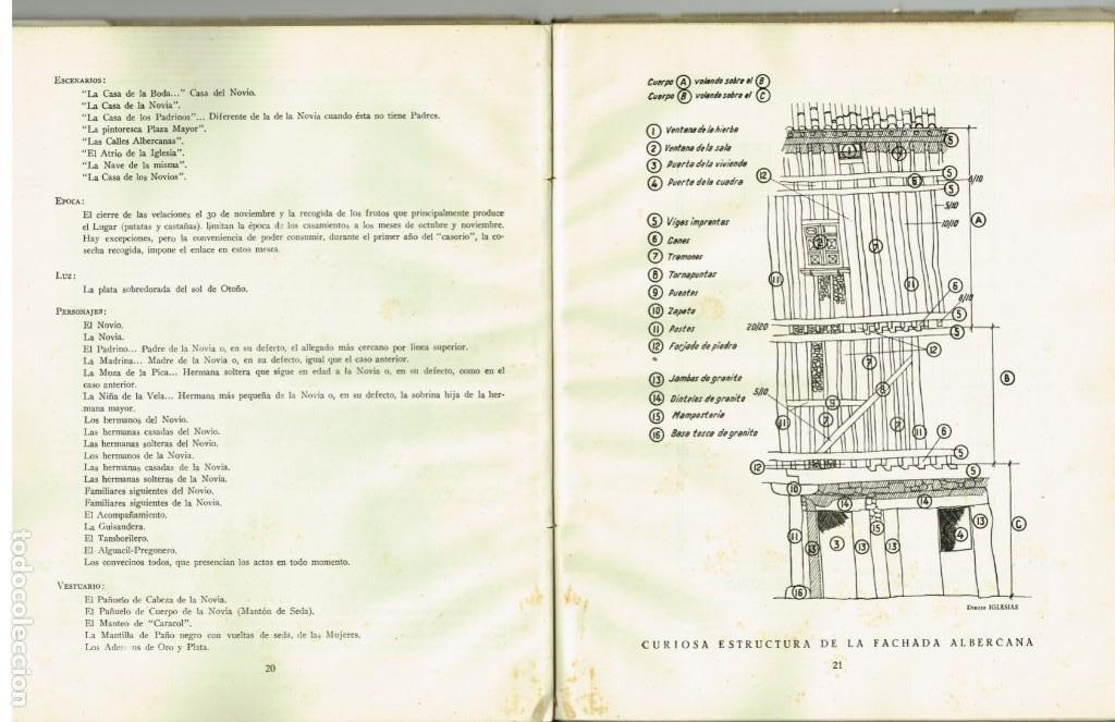 Libros de segunda mano: EL PROTOCOLO DEL AMOR SERRANO LORENZO GONZALEZ SIERRA DE FRANCIA FOLKLORE ESPAÑOL 1944 - Foto 3 - 265111629