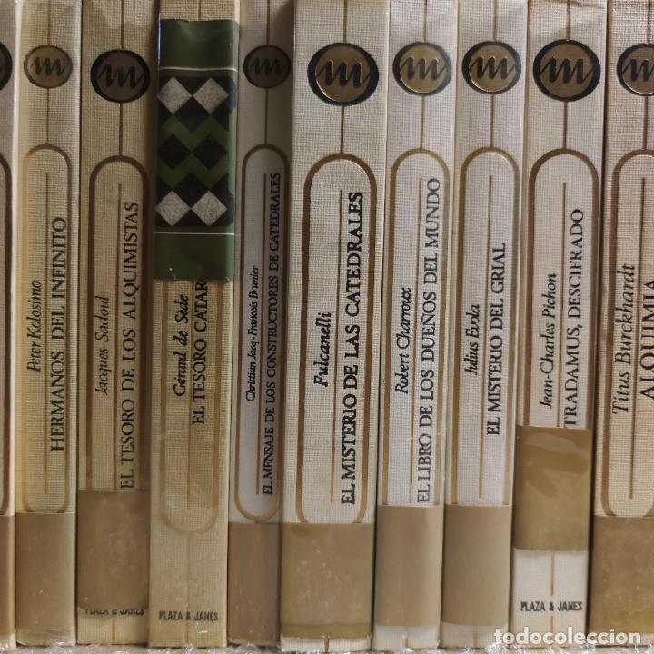 Libros de segunda mano: Colección Otros mundos. 90 tomos. Esoterismo, Astrología, Misterio, Alquimia, enigmas, como nuevos. - Foto 10 - 265338394
