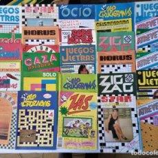 Livros em segunda mão: MAS DE 50 UNIDADES PASATIEMPOS AÑOS 80 NUEVOS. Lote 265687069