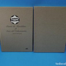 Libros de segunda mano: DIARIO DE MONTBLANC Y GUÍA DEL COLECCIONISTA.- JENS RÖSLER. Lote 265804789