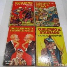 Libros de segunda mano: RICHMAL CROMPTON GUILLERMO (4 EJEMPALRES DIFERENTES) W7267. Lote 265950548