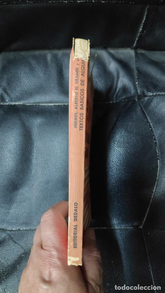 Libros de segunda mano: TEXTOS BASICOS DE ALQUIMIA ( HERMES, ALBERTO EL GRANDE,R.BACON A,DE VILLANUEVA,R. LULIO PARACELSO - Foto 4 - 265957968