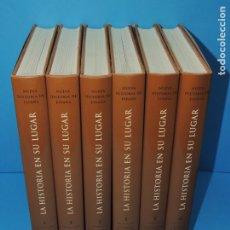 Libros de segunda mano: NUEVA HISTORIA DE ESPAÑA. LA HISTORIA EN SU LUGAR. (6 VOL.) VER DESCRIPCIÓN. Lote 265958428