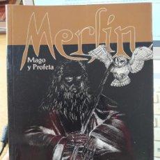 Libros de segunda mano: MERLIN, MAGO Y PROFETA, RAMON HERVAS, ED. ROYLAND. 1999 MUY RARO. Lote 266077068