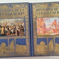 Libros de segunda mano: HISTORIA DE LA CIVILIZACIÓN - RICARDO VERA TORNELL - 2 TOMOS COMPLETA - EDITORIAL ESPASA CALPE 1958. Lote 266085728