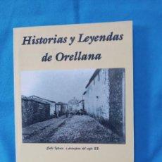Libros de segunda mano: HISTORIAS Y LEYENDAS DE ORELLANA - VICTOR SANZ. Lote 266112178