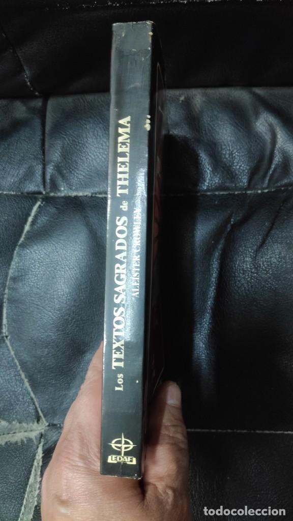 Libros de segunda mano: LOS TEXTOS SAGRADOS DE THELEMA ( ALEISTER CROWLEY ) EDAF TABLA ESMERALDA 1988 - Foto 3 - 266129663