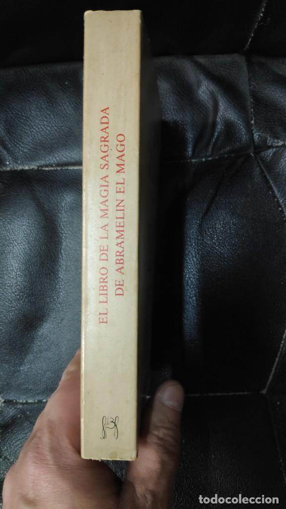 Libros de segunda mano: EL LIBRO DE LA MAGIA SAGRADA DE ABRAMELIN EL MAGO ( HUMANITAS 1983 ) - Foto 2 - 266267358