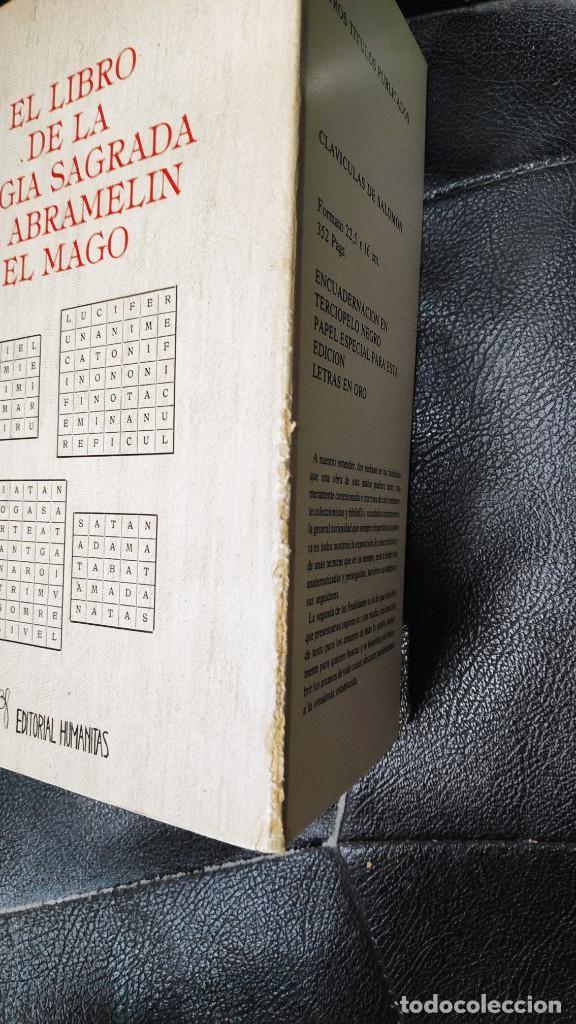 Libros de segunda mano: EL LIBRO DE LA MAGIA SAGRADA DE ABRAMELIN EL MAGO ( HUMANITAS 1983 ) - Foto 7 - 266267358