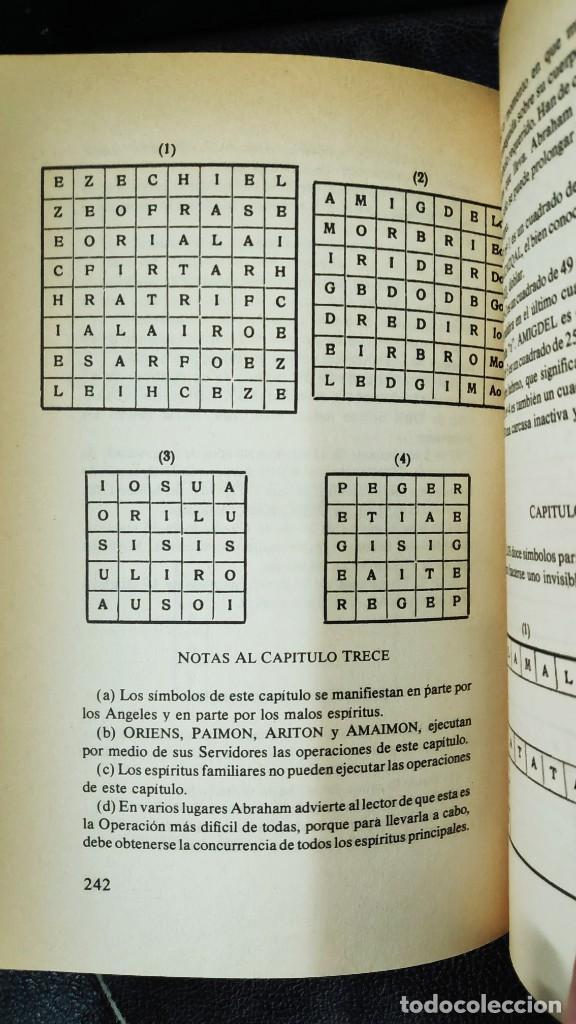 Libros de segunda mano: EL LIBRO DE LA MAGIA SAGRADA DE ABRAMELIN EL MAGO ( HUMANITAS 1983 ) - Foto 9 - 266267358