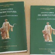 Livros em segunda mão: LOS 12 LIBROS DE AGRICULTURA LUCIO JUNIO MODERATO COLUMELA 2 TOMOS INSTITUTO DE ACADEMIAS 2018. Lote 266279848