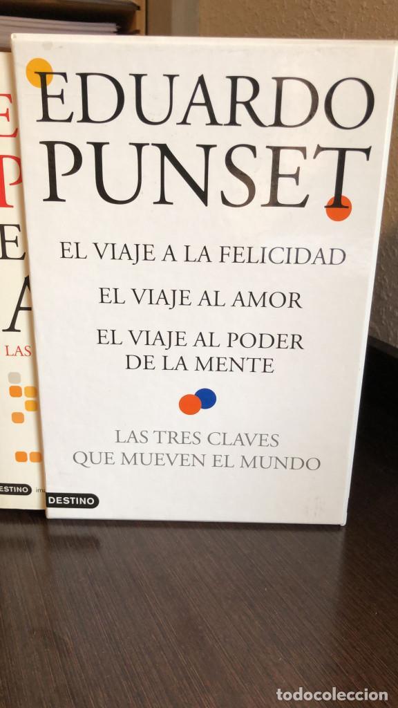 Libros de segunda mano: Pack 3 Libros Eduardo Punset - El viaje a la felicidad, al amor, al poder de la mente - Foto 2 - 266412363