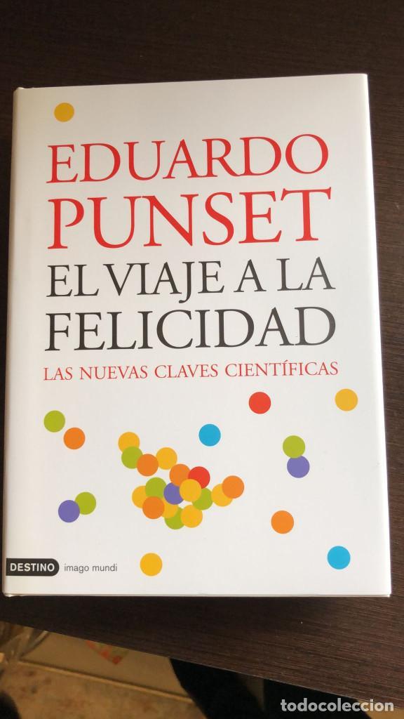 Libros de segunda mano: Pack 3 Libros Eduardo Punset - El viaje a la felicidad, al amor, al poder de la mente - Foto 4 - 266412363