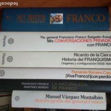 Libros de segunda mano: FRANCO / FRANCISCO FRANCO / GENERAL FRANCO / EL GENERALISIMO. Lote 266475558