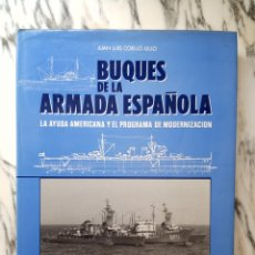Livres d'occasion: BUQUES DE LA ARMADA ESPAÑOLA - JUAN LUIS COELLO LILLO - ALDABA. Lote 266495053