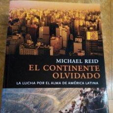 Libros de segunda mano: EL CONTINENTE OLVIDADO. MICHAEL REID. Lote 267163529