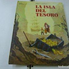 Libros de segunda mano: LA ISLA DEL TESORO- RELATOS CLASICOS UNIVERSALES TIMUN MAS - ROBERT L. STEVENSON - N 9. Lote 267269489