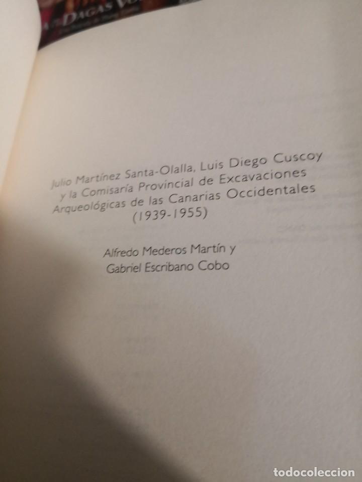 Libros de segunda mano: Libro ESCAVACIONES ARQUEOLOGÍCAS EN LAS CANARIAS OCCIDENTALES. - Cuscoy. Luis Diego, - Foto 3 - 267339009