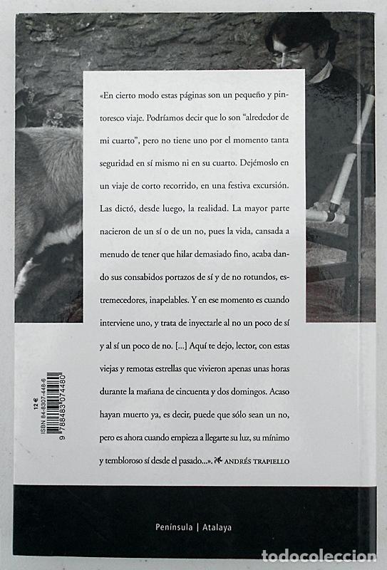 Libros de segunda mano: Sí y no (Los desvanes, 6) - Andrés Trapiello - Península (Atalaya) 2002 - Foto 2 - 267389154
