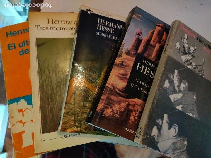 LOTE DE LIBROS DE HERMANN HESSE (Libros de Segunda Mano (posteriores a 1936) - Literatura - Otros)