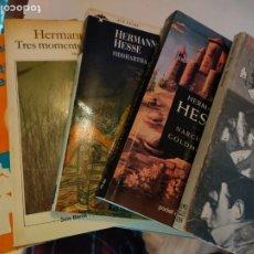 Libros de segunda mano: LOTE DE LIBROS DE HERMANN HESSE. Lote 267424139