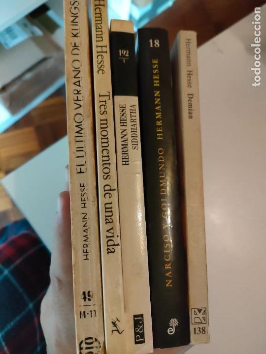 Libros de segunda mano: Lote de libros de Hermann Hesse - Foto 2 - 267424139