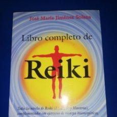 Livres d'occasion: LIBRO COMPLETO DE REIKI.. JOSE MARIA JIMENEZ. Lote 267513229