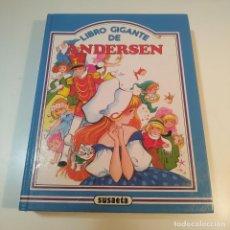 Libros de segunda mano: LIBRO GIGANTE DE ANDERSEN - SUSAETA EDICIONES - AÑO 1987 - ILUSTRACIONES MARIA PASCUAL. Lote 267555939