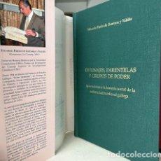 Libros de segunda mano: DE LINAJES, PARENTELAS Y GRUPOS DE PODER (NOBLEZA GALLEGA; GENEALOGÍA GALICIA; ÁRBOLES GENEALÓGICOS. Lote 267606204