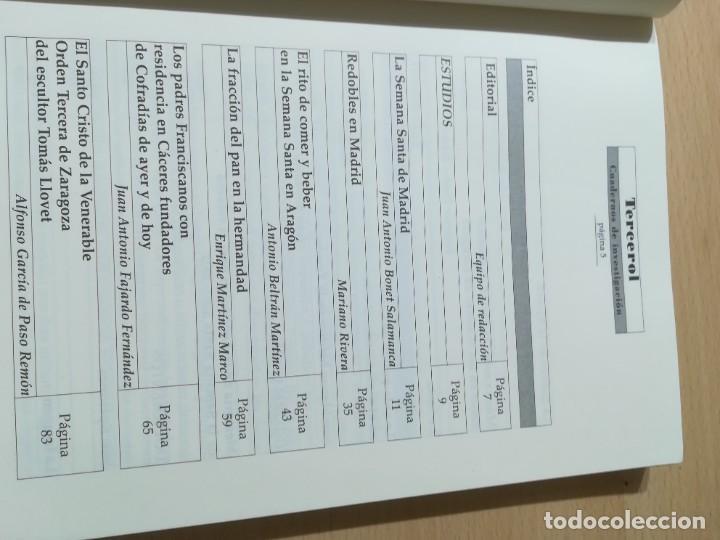 Libros de segunda mano: TERCEROL / ASOCIACION ESTUDIO SEMANA SANTA 6 DE 2001 2002 / ZARAGOZA / AI29 / ARAGON - Foto 6 - 267660594