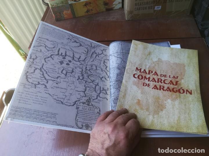 Libros de segunda mano: TERRITORIUM / EL LARGO CAMINO HACIA LAS COMARCAS / HERALDO / CMA9 / ARAGON - Foto 3 - 267665274