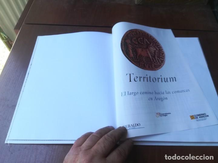 Libros de segunda mano: TERRITORIUM / EL LARGO CAMINO HACIA LAS COMARCAS / HERALDO / CMA9 / ARAGON - Foto 6 - 267665274