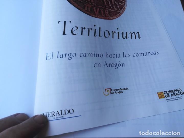 Libros de segunda mano: TERRITORIUM / EL LARGO CAMINO HACIA LAS COMARCAS / HERALDO / CMA9 / ARAGON - Foto 7 - 267665274