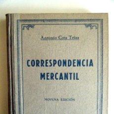 "Libros de segunda mano: COSTA TRIAS, A. ""CORRESPONDENCIA MERCANTIL. MÉTODO PRÁCTICO"".. Lote 267719419"