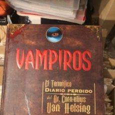 Libros de segunda mano: LIBRO PLANETA JUNIORS. VAMPIROS. EL TERRORÍFICO DIARIO PERDIDO DEL DR. CORNELIUS VAN HELSING. Lote 288435588