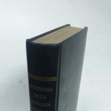 Libros de segunda mano: 1967 - BOLETÍN DE LA REAL ACADEMIA DE HISTORIA. TOMO VI - FACSÍMIL ED. 1885 - CONSEJO HEBREO. Lote 267821809