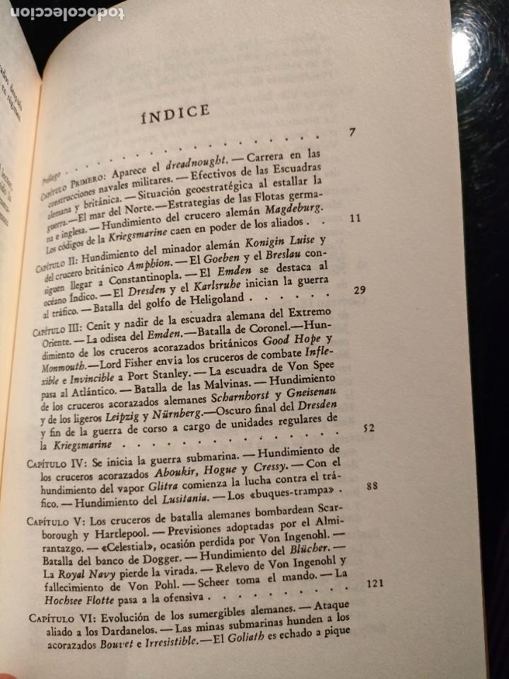 Libros de segunda mano: El mar en la Gran Guerra (LUIS DE LA SIERRA) - Foto 3 - 267857279