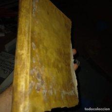 Libros de segunda mano: ANTIGUO PERGAMINO DEL SIGLO XVIII SERMONES NICOLÁS GALLO CONGREGACIÓN LA AYUDA DEL SALVADOR MADRID. Lote 267894394