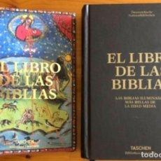 Libros de segunda mano: EL LIBRO DE LAS BIBLIAS- ILUMINADAS MAS BELLAS EDAD MEDIA- 2016. Lote 268026469