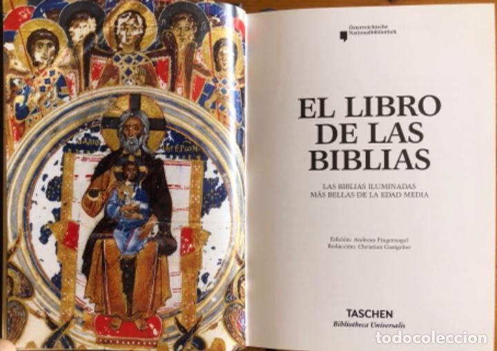 Libros de segunda mano: EL LIBRO DE LAS BIBLIAS- ILUMINADAS MAS BELLAS EDAD MEDIA- 2016 - Foto 4 - 268026469