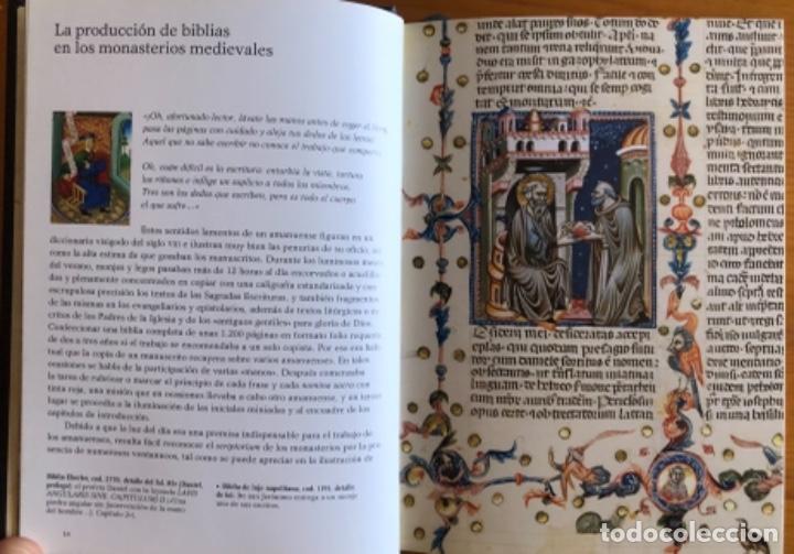 Libros de segunda mano: EL LIBRO DE LAS BIBLIAS- ILUMINADAS MAS BELLAS EDAD MEDIA- 2016 - Foto 5 - 268026469