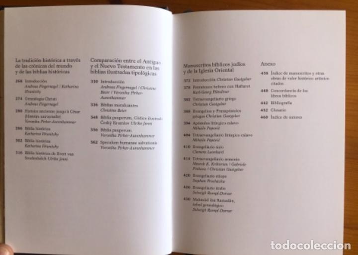 Libros de segunda mano: EL LIBRO DE LAS BIBLIAS- ILUMINADAS MAS BELLAS EDAD MEDIA- 2016 - Foto 6 - 268026469