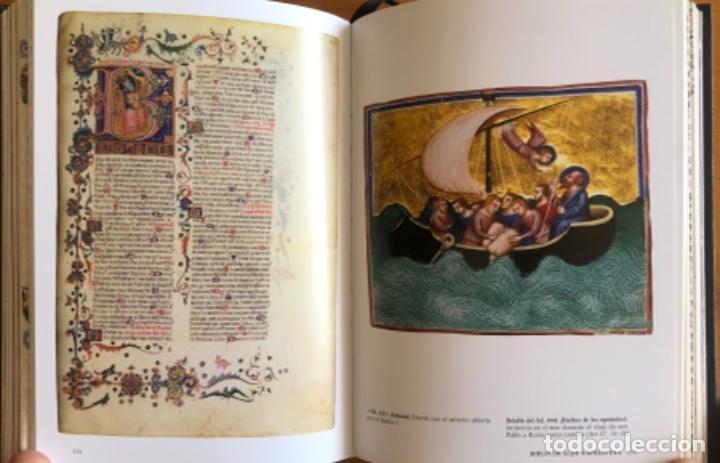 Libros de segunda mano: EL LIBRO DE LAS BIBLIAS- ILUMINADAS MAS BELLAS EDAD MEDIA- 2016 - Foto 9 - 268026469