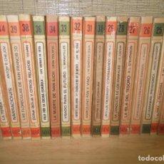 Libros de segunda mano: 28 LIBROS BIBLIOTECA BASICA SALVAT RTV DE 1969. Lote 268117204
