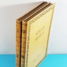 Libros de segunda mano: LOTE 2 LIBROS STYLES DE FRANCE, OBJETS ET COLLECTIONS Y MEUBLES ET ENSEMBLES, VER DESCRIPCION. Lote 268124554